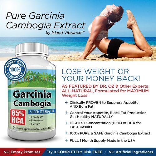 garcinia cambogia weight loss breastfeeding