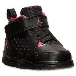 Girls' Toddler Jordan SC-3 Basketball Shoes | FinishLine.com | Black