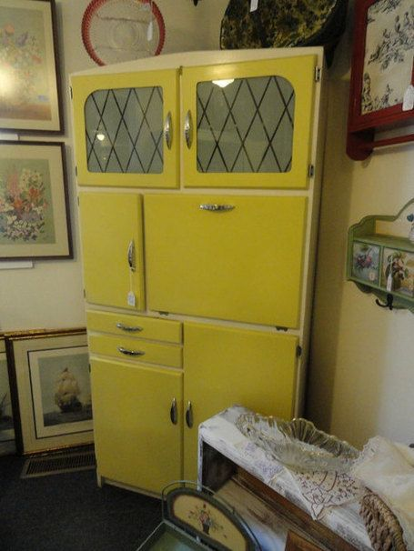 Restored 1950s kitchen cabinet for the home pinterest for 1950 s kitchen cabinets
