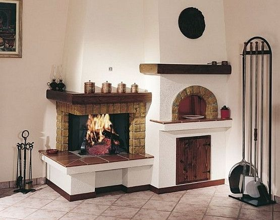 Corner Two Sided Fireplace Village Family Living Rooms