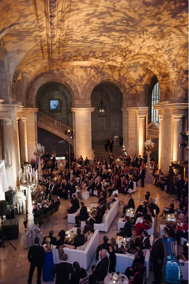 New york public library wedding favorite places us for Small nyc wedding venues