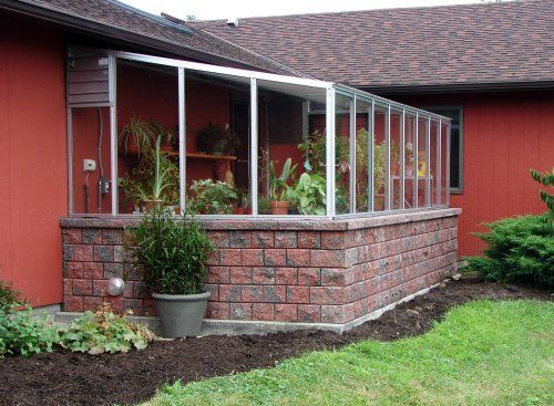 House attached greenhouse exterior design pinterest for House plans with greenhouse attached