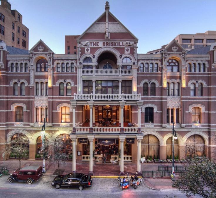 the driskill hotel 6th street austin texas texas my
