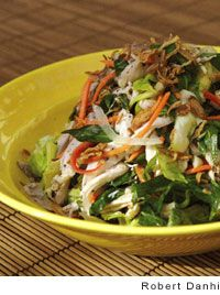 Poached Chicken and Cabbage Salad Recipe | Leite's Culinaria # ...