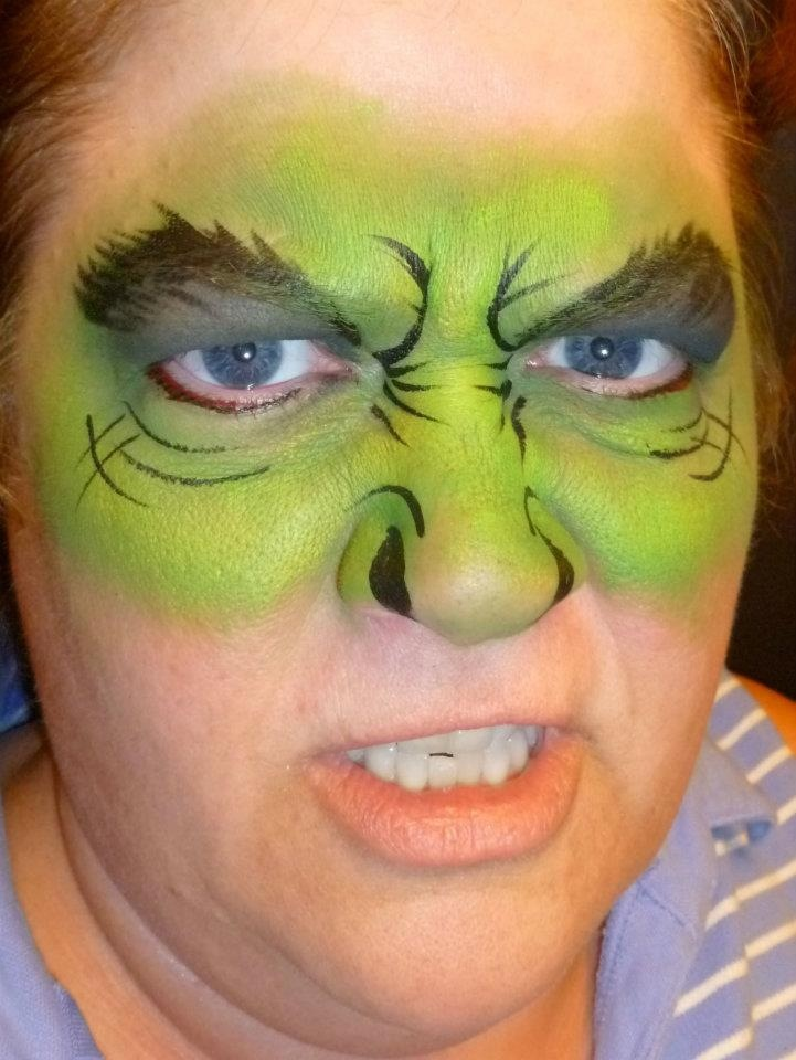 Hulk face painting ideas