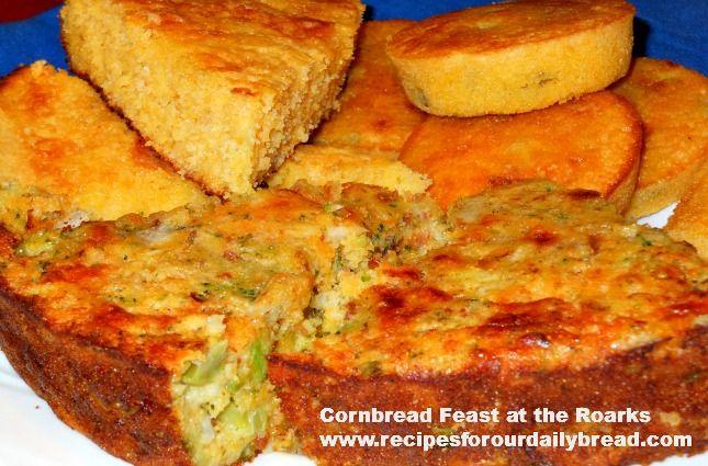 Broccoli & Cheese Cornbread Recipes | Recipe