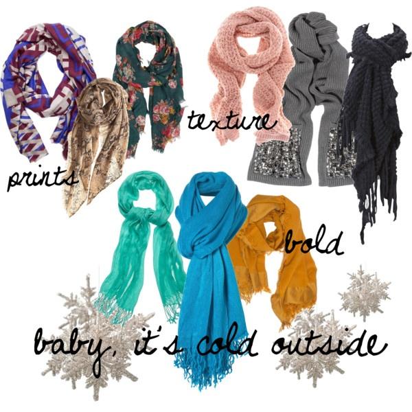 scarves, scarves, scarves!