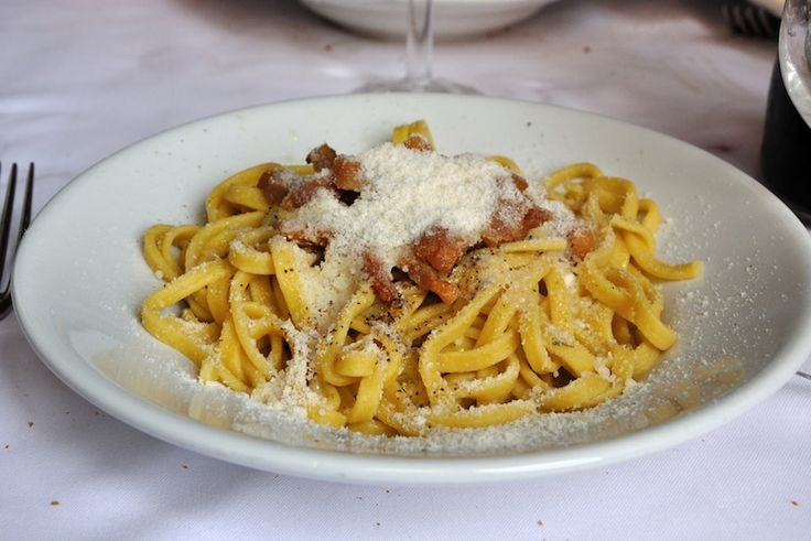 to cook a roman style spaghetti alla carbonara roman style spaghetti ...