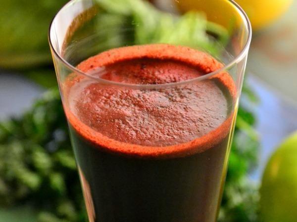 Beet, Apple, And Mint Juice Recipe — Dishmaps