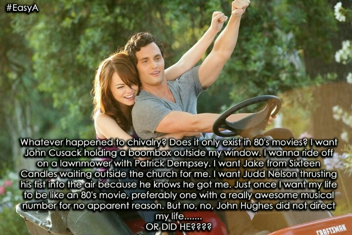 Quotes About Love From 80s Movies : This is sooo ME! I just want the love story like an 80s movie!