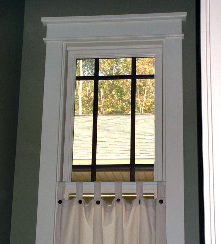 Window Trim Ideas Interior Window Trim Molding Bathroom