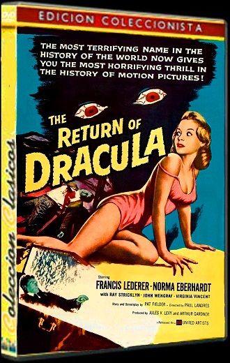 Cartel Película, El retorno de Drácula (1958)
