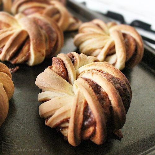 Cakecrumbs Cinnamon Knots | Food | Pinterest