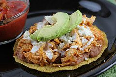 Chicken Tinga Tostadas - These are a staple at my house and they are ...