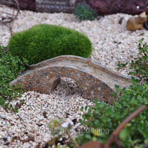 Miniature Fairy Garden Tiny Stone Bridge