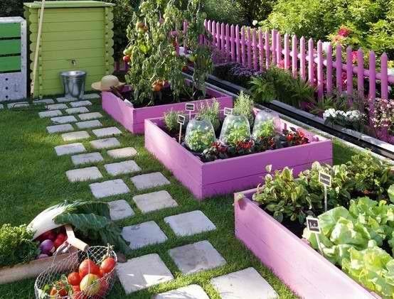 Cool box garden!