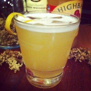 Elderflower & Irish Whiskey Punch | Drinky Drinks | Pinterest