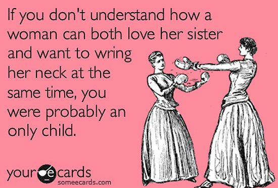 Funny Sister Someecards