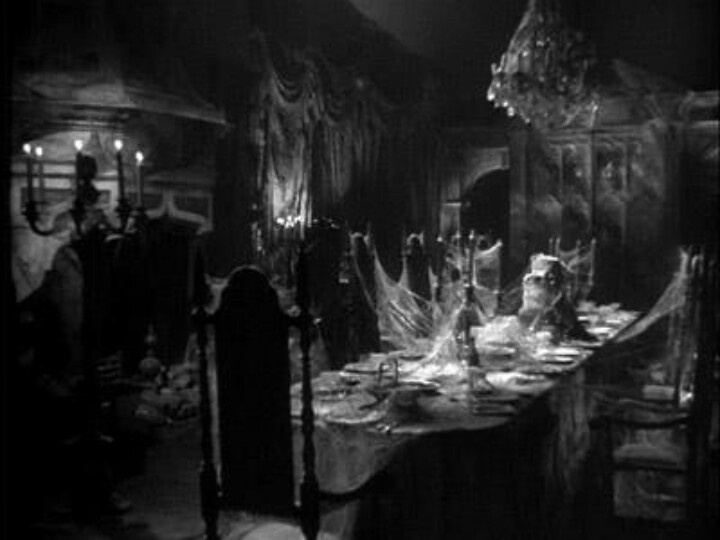 haunted dining room illustration inspiration pinterest