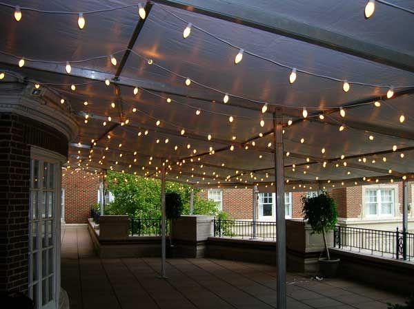 Lighting Ideas For Outdoor Wedding : outdoor wedding lighting ideas  Wedding Lighting  Pinterest