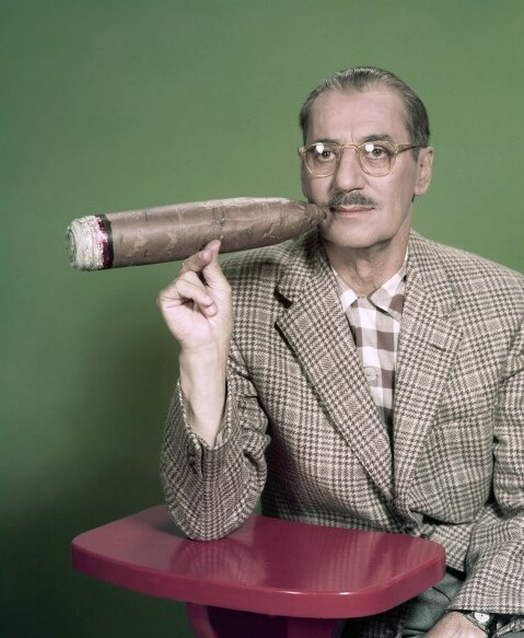 Groucho Marx | Smoking Fix | Pinterest