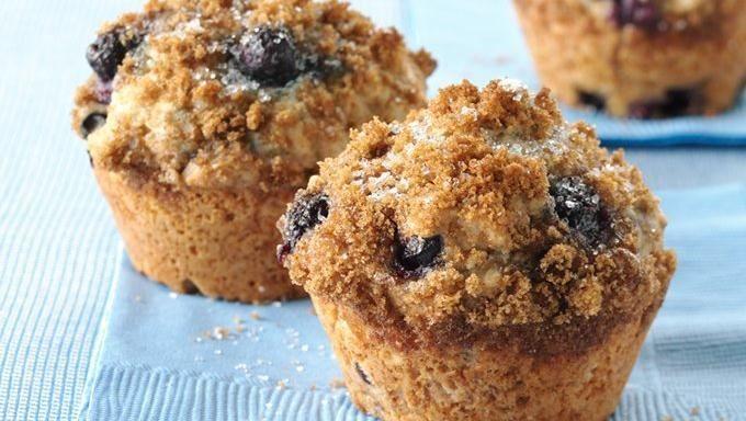 Whole Wheat-Blueberry Muffins | Recipe
