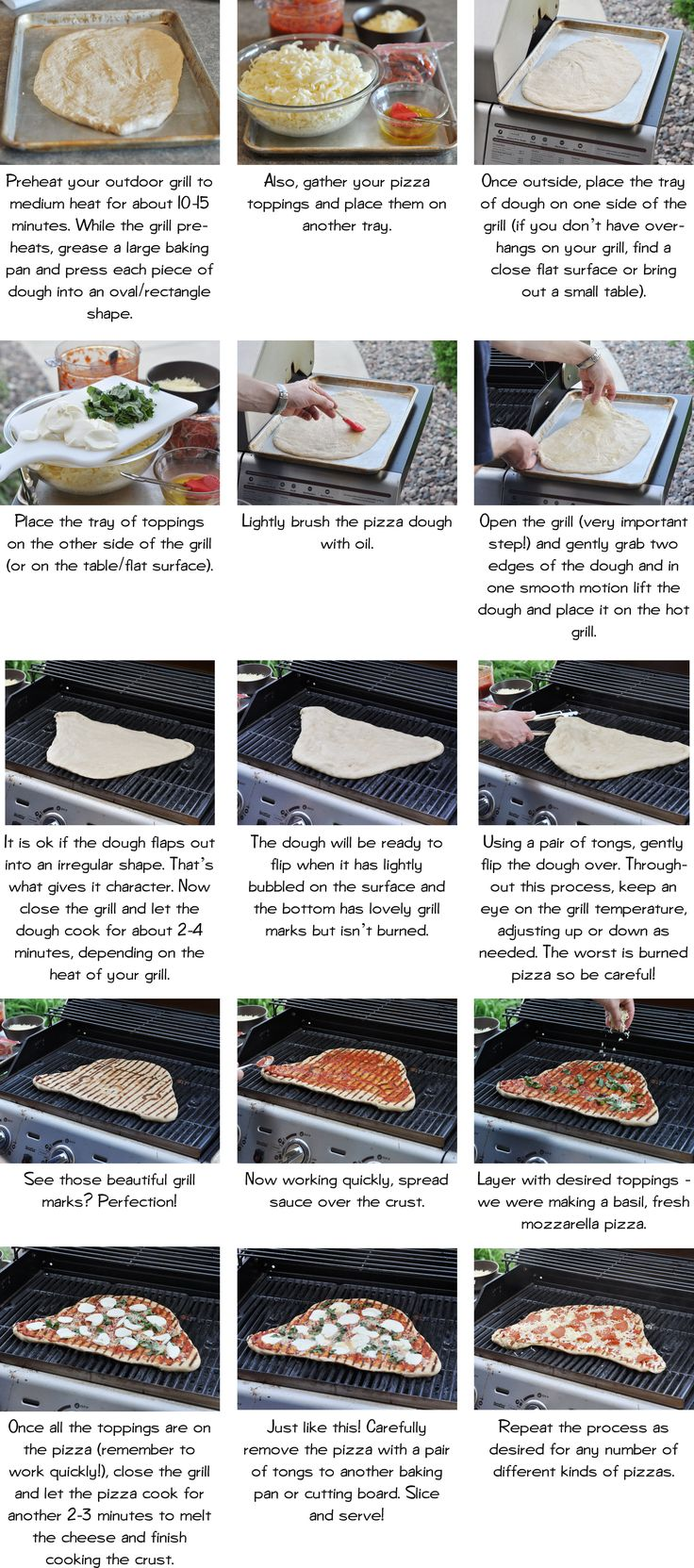 pizza on the grill | CAMPING | Pinterest