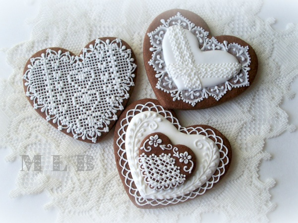 Lace cookies | Cake Decorating Fun | Pinterest