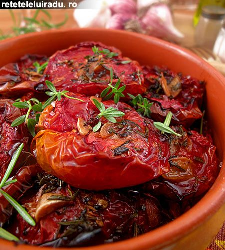 Oven dried tomatoes | Italian Food | Pinterest