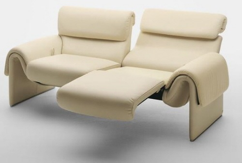 Two seater recliner furniture pinterest - Contemporary recliner chairs ...