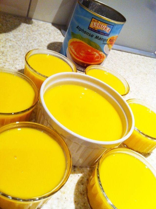 Chinese Style Mango Pudding.jpg | sweet | Pinterest