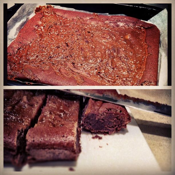 Sea-Salted Caramel Brownies | Things I want to bake | Pinterest