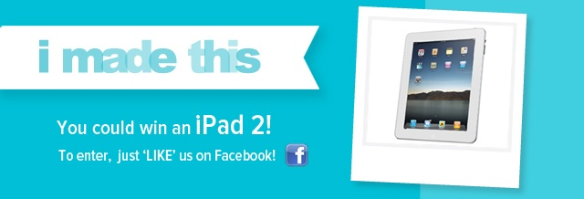 ipad 2 giveaway! easy to enter.