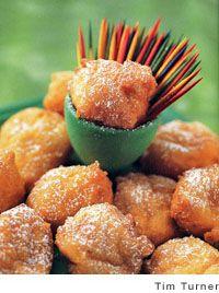 Ricotta-Sweet Potato Beignets | Recipe