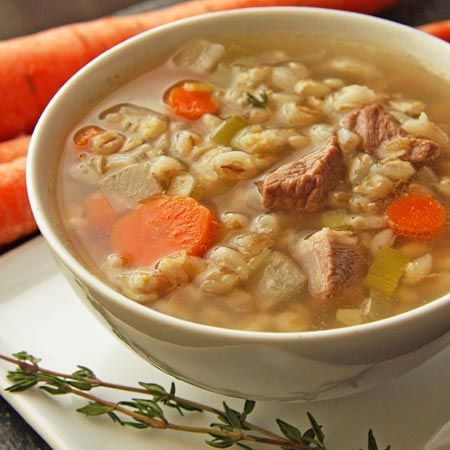 "Lord & Taylor's ""Soup Bar"" Scotch Broth 