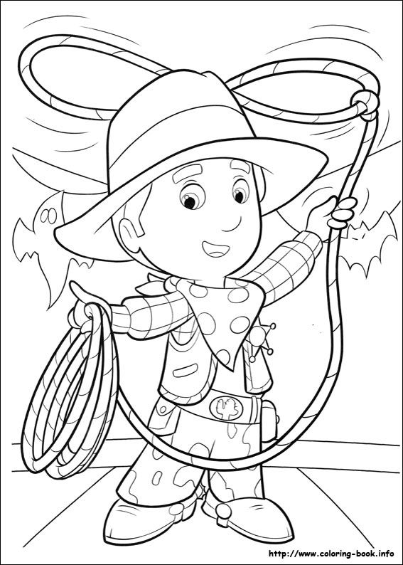handy manny coloring pages e - photo#34