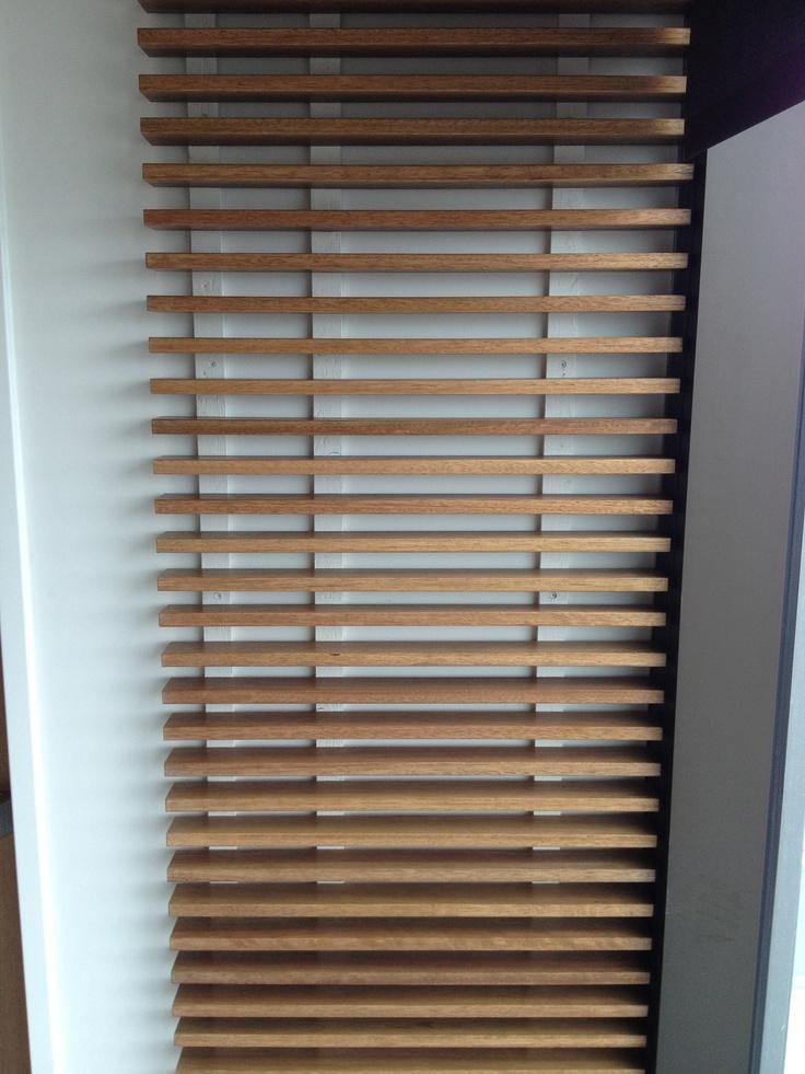 Wood Slat Wall Interior Design Pinterest