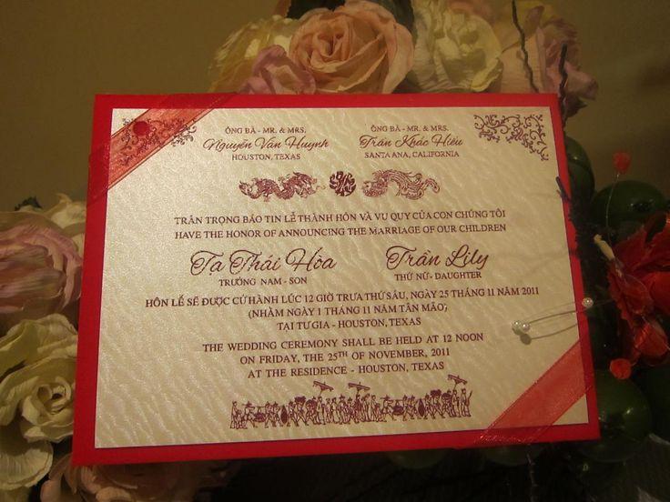 Wedding Invitations Vietnam as amazing invitations ideas