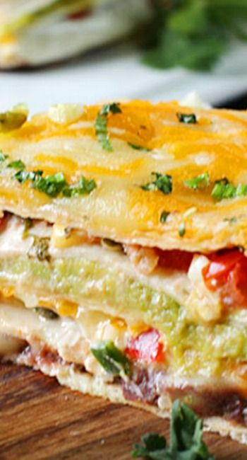 Super Stacked Quesadilla Pie | Recipe