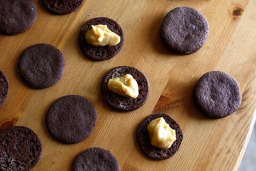 Chocolate Espresso Sandwich Cookies | bake | Pinterest