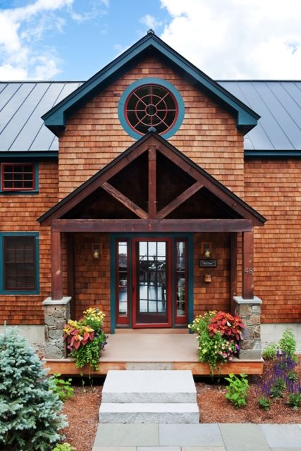 adirondack rustic barn house home ideas pinterest