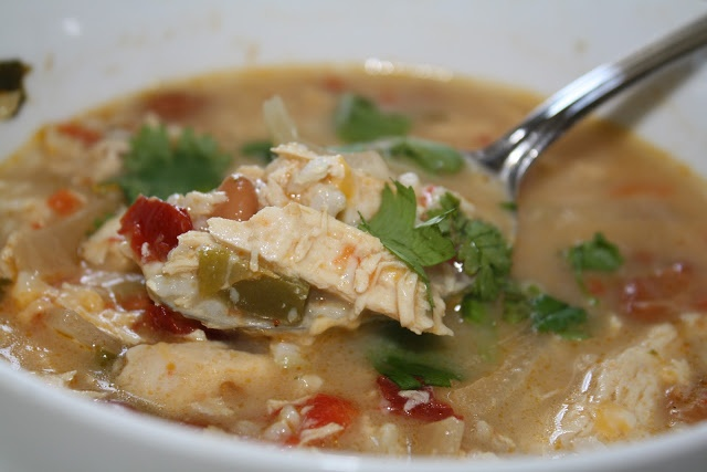 Crockpot Mexican Chicken Lime Soup | Food | Pinterest