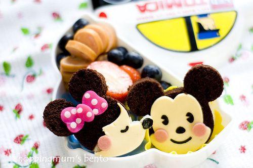 mickey bento | Breakfast & Lunch box | Pinterest