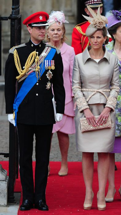 One of the most tastefully dressed of the Royal ladies at last year's wedding of Catherine and Prince William, Sophie of Wessex shows impeccable taste.