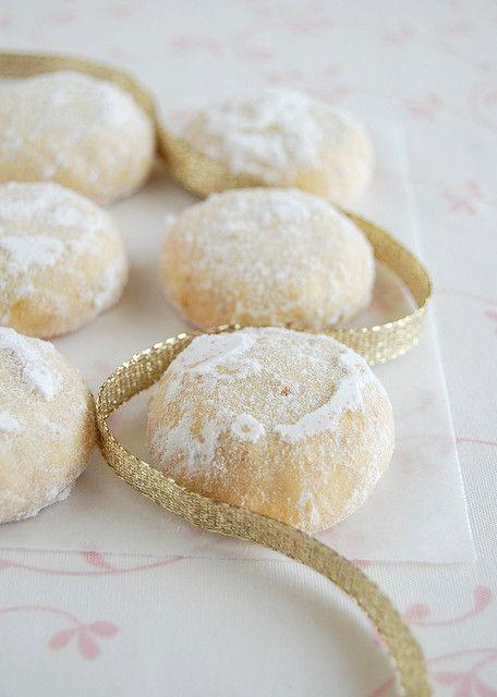 Walnut and Orange Snowballs | Christmas | Pinterest