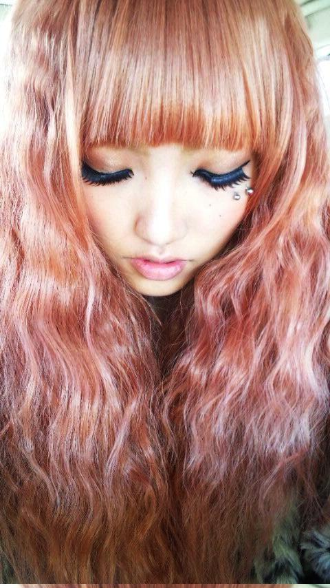 Gallery images and information: Peach Hair Tumblr Peach Hair Tumblr