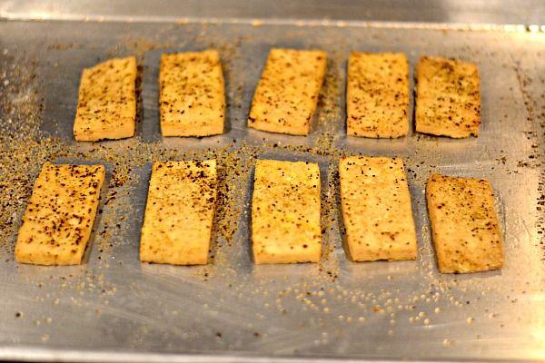 Peanut Butter Runner | Easy Baked Tofu Tutorial | http://www ...