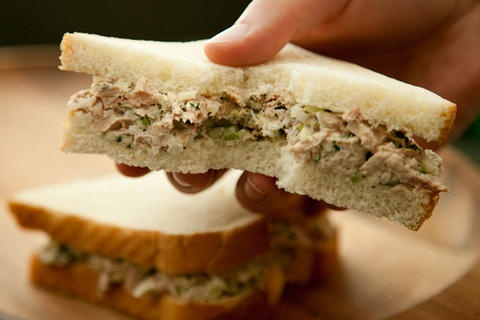 Grown-Up Tuna Salad With less mayo, add Olive Oil, add Dill