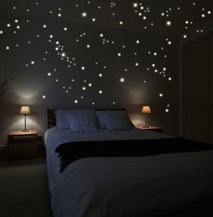 glow in the dark stars bedrooms pinterest