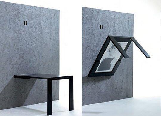 Fold Away Table Kitchen Ideas Pinterest